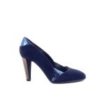 Thiron damesschoenen pump blauw 171398