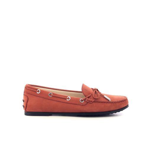 Tod's damesschoenen mocassin oranje 212177