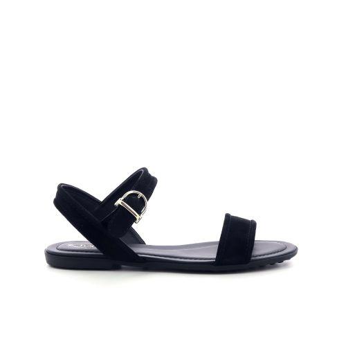 Tod's damesschoenen sandaal zwart 205528