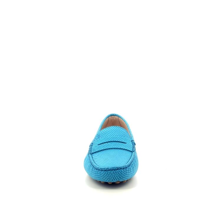 Tod's damesschoenen mocassin turquoise 191682