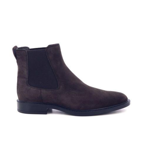 Tod's herenschoenen boots d.bruin 197644