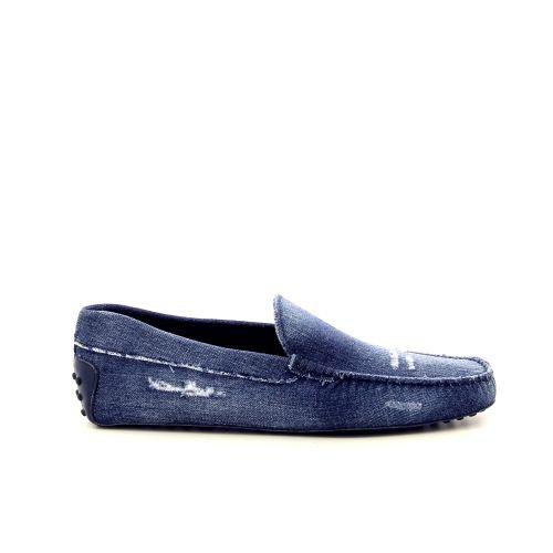 Tod's herenschoenen mocassin jeansblauw 191748