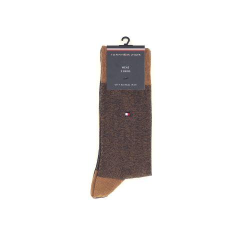 Tommy hilfiger accessoires kousen bruin 211231