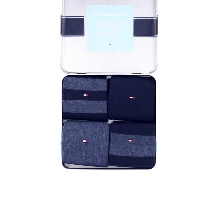 Tommy hilfiger accessoires kousen donkerblauw 190643