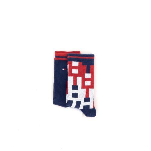 Tommy hilfiger accessoires kousen donkerblauw 211205