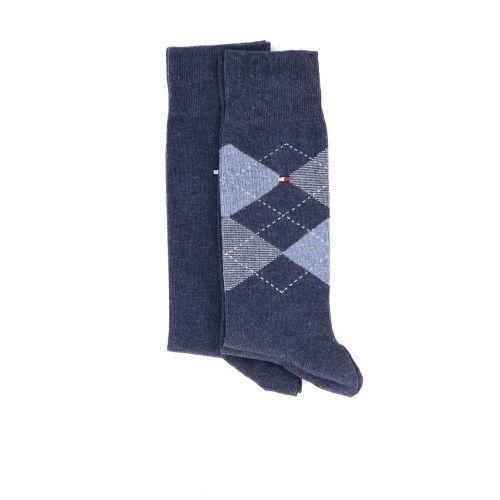 Tommy hilfiger accessoires kousen donkerblauw 211221