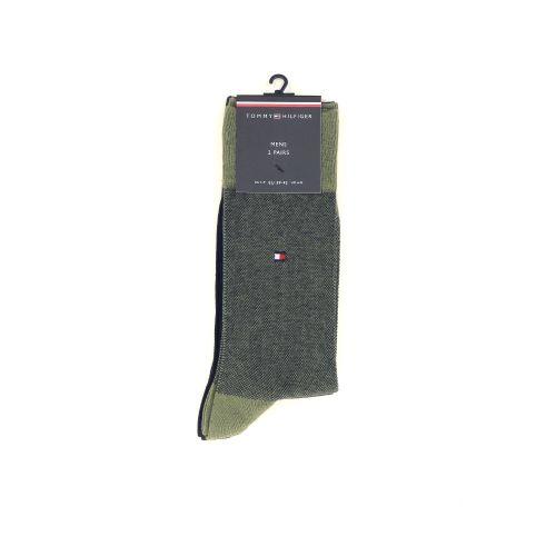 Tommy hilfiger accessoires kousen kaki 211230
