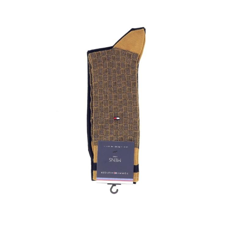 Tommy hilfiger accessoires kousen oker 190630
