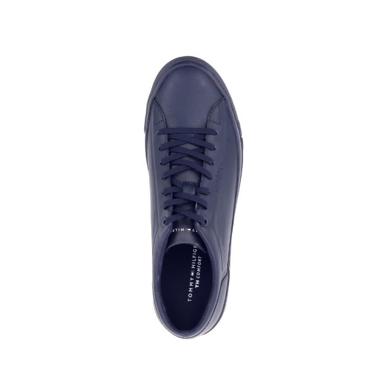 Tommy hilfiger herenschoenen sneaker donkerblauw 192508