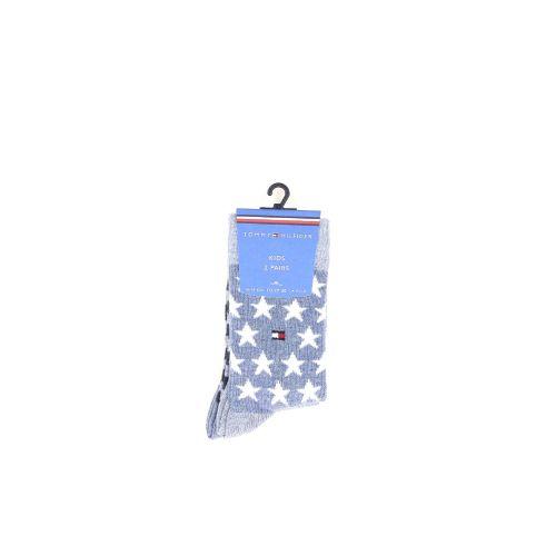 Tommy hilfiger  kousen jeansblauw 211202