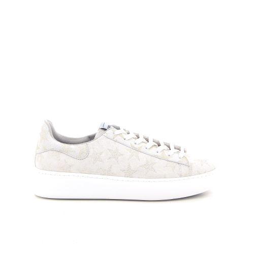 Trend solden sneaker wit 184392