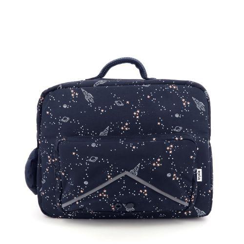 Trixie  boekentas donkerblauw 207026
