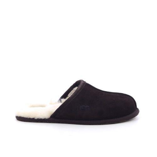 Ugg herenschoenen pantoffel d.bruin 198240