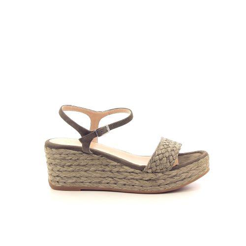 Unisa damesschoenen sandaal kaki 193863