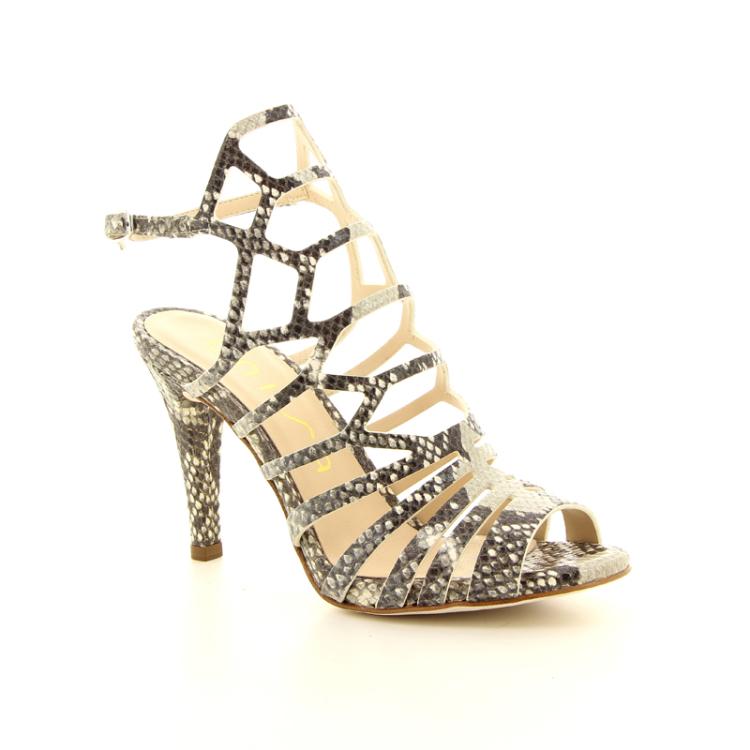 Unisa damesschoenen sandaal taupe 98833
