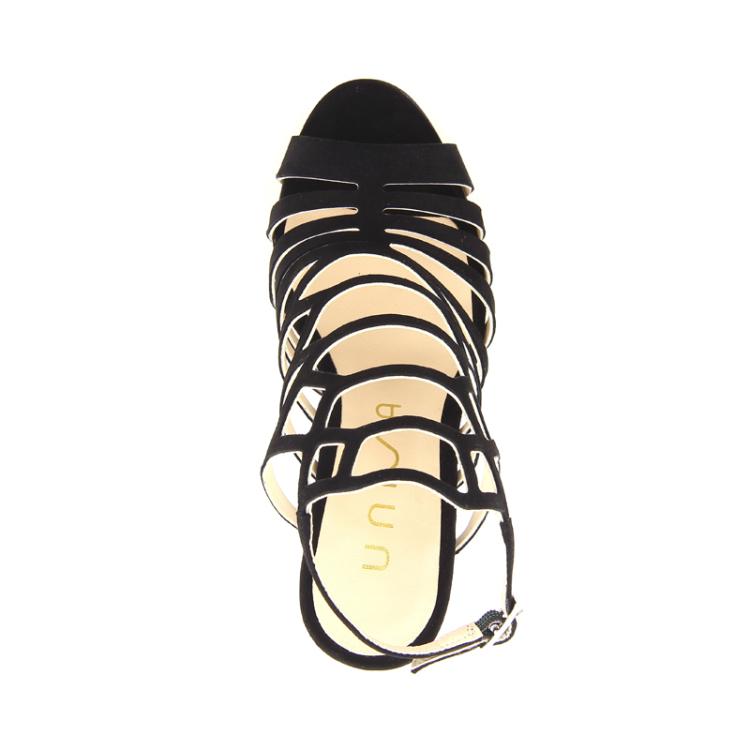 Unisa damesschoenen sandaal zwart 98834