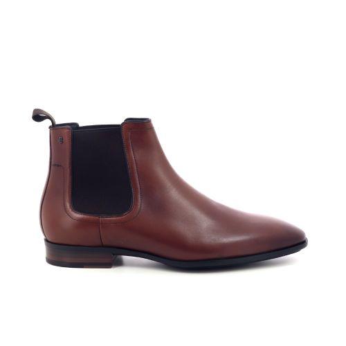 Van bommel herenschoenen boots cognac 202713