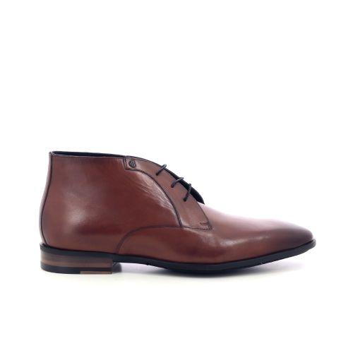 Van bommel herenschoenen boots cognac 209459
