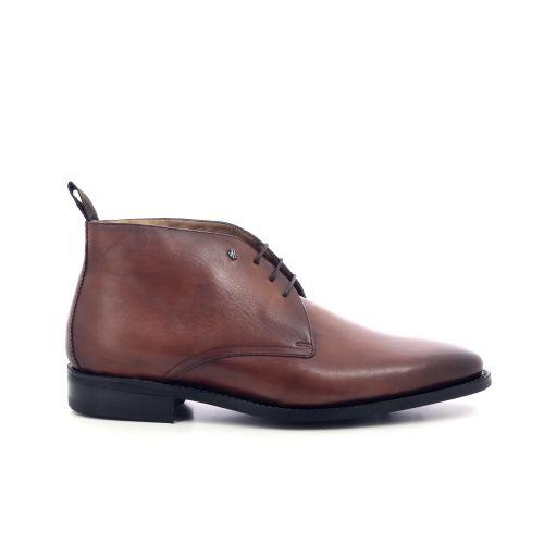 Van bommel herenschoenen boots cognac 209462