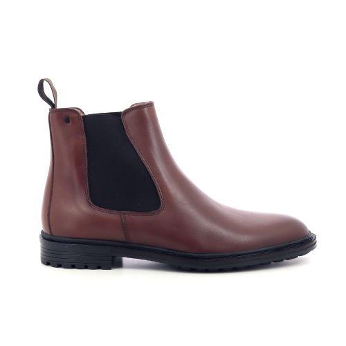 Van bommel herenschoenen boots cognac 209464