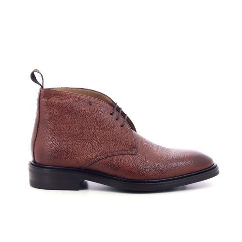 Van bommel herenschoenen boots cognac 209465