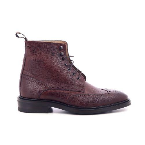 Van bommel herenschoenen boots cognac 209470