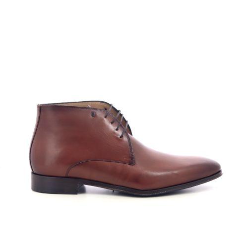 Van bommel herenschoenen boots cognac 218194