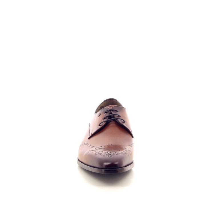 Van bommel herenschoenen veterschoen cognac 194085
