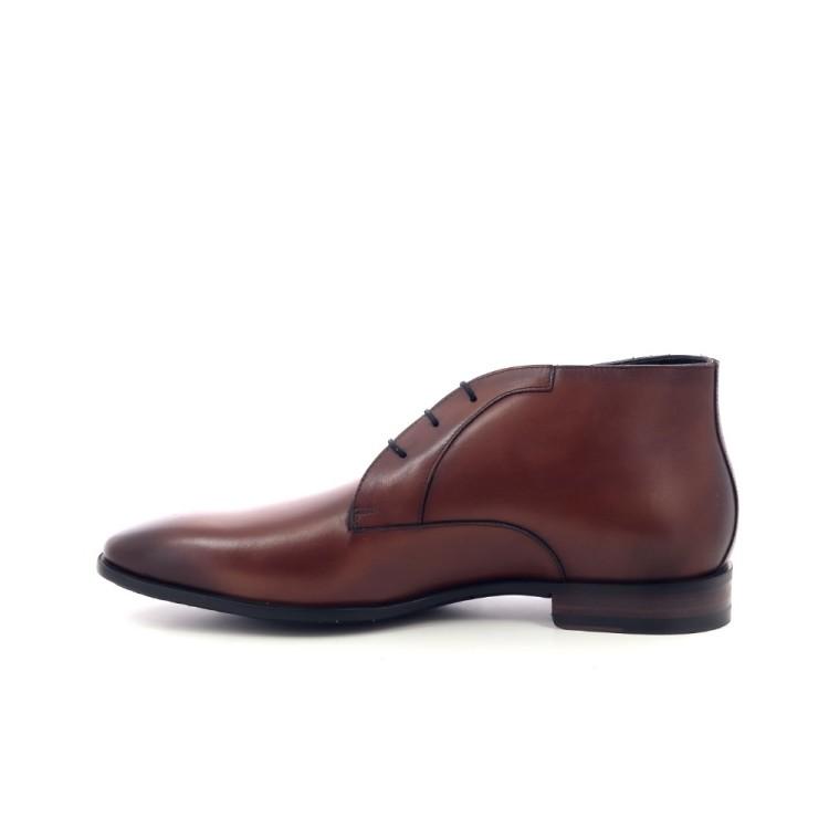 Van bommel herenschoenen boots cognac 202704