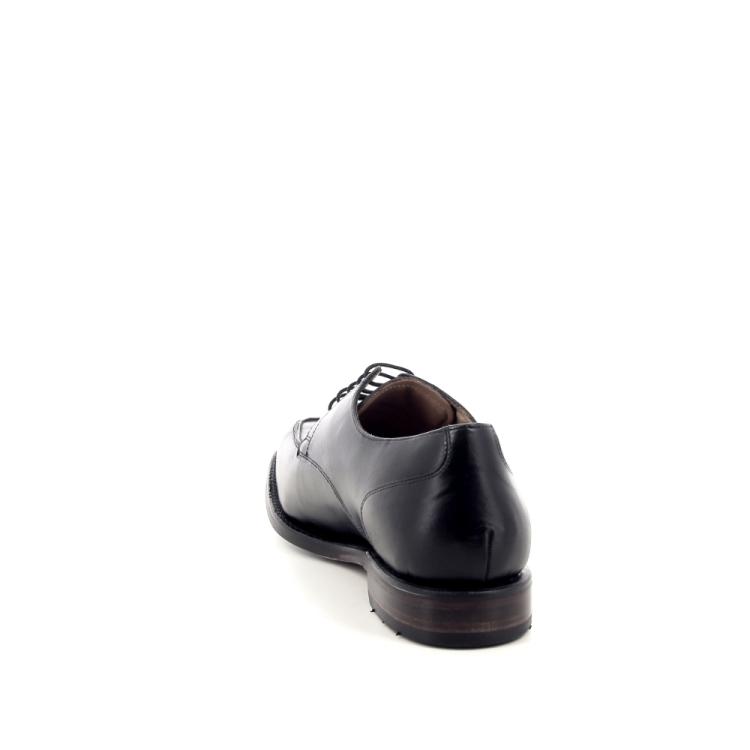 Van bommel herenschoenen veterschoen zwart 194080