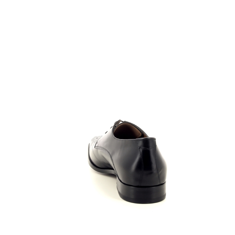 Van bommel herenschoenen veterschoen zwart 194084