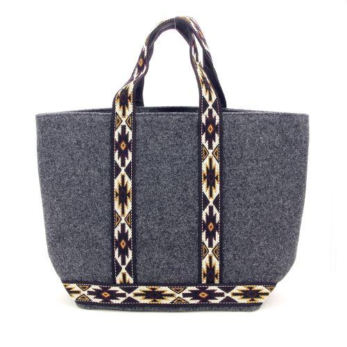 Vanessa bruno tassen handtas donkergrijs 199061
