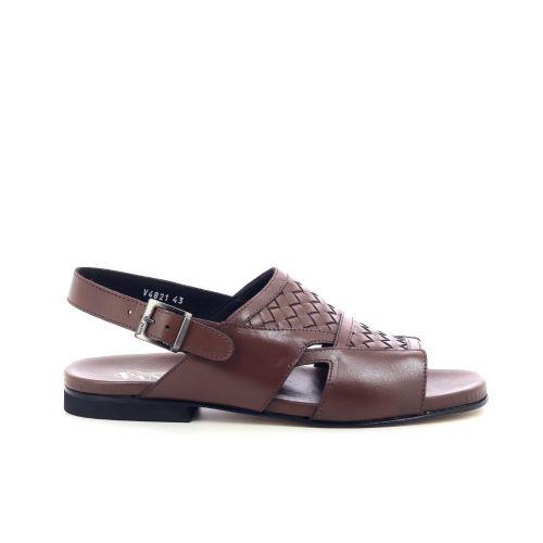 Vanni herenschoenen sandaal cognac 215066