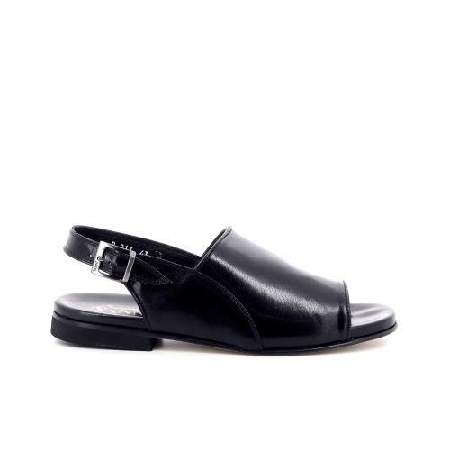 Vanni herenschoenen sandaal zwart 205787