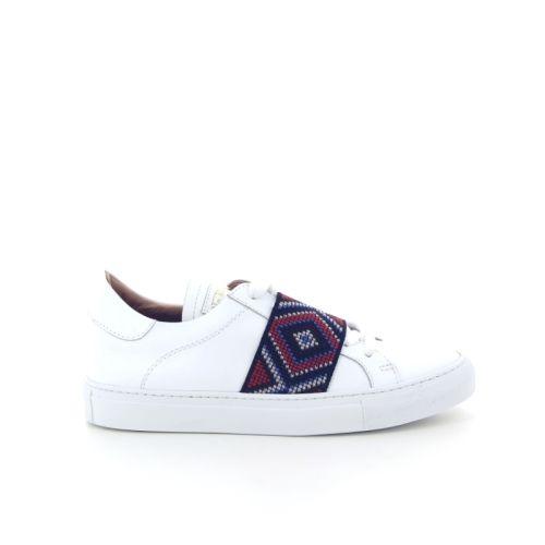 Via roma 15 damesschoenen sneaker wit 12486