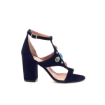 Via roma 15 damesschoenen sandaal zwart 171678