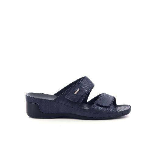 Vital damesschoenen sleffer donkerblauw 214319