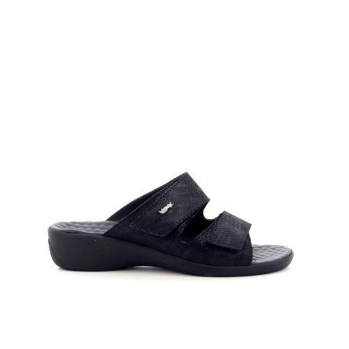 Vital damesschoenen sleffer zwart 214320