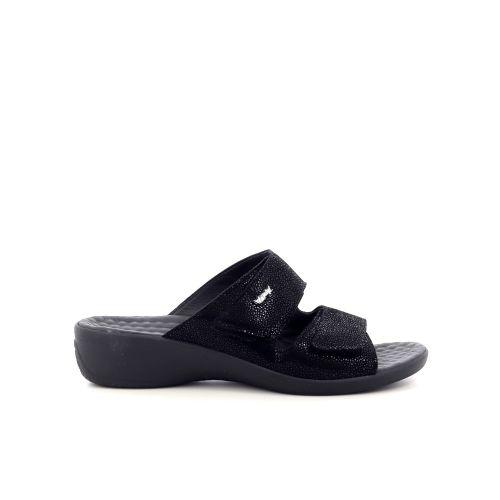 Vital damesschoenen sleffer zwart 217802