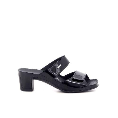 Vital damesschoenen sleffer zwart 217806