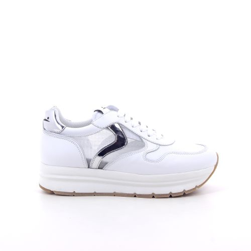 Voile blanche damesschoenen sneaker wit 195095