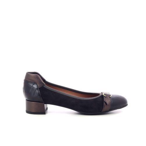 Voltan damesschoenen pump d.bruin 210202