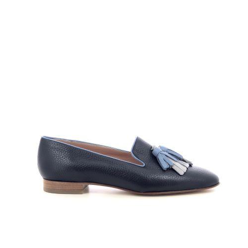Voltan damesschoenen mocassin donkerblauw 215041