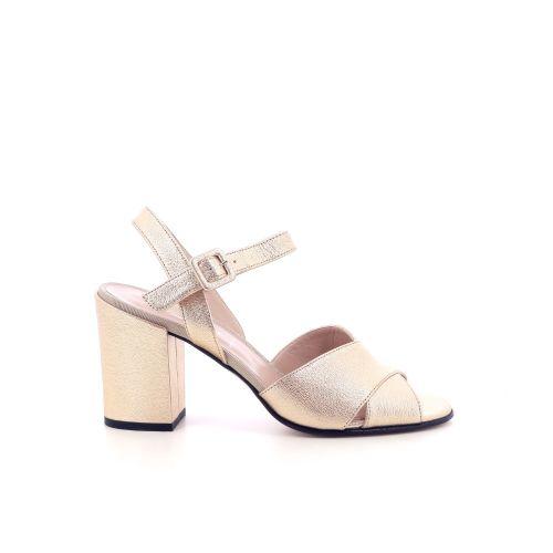 Voltan damesschoenen sandaal licht brons 202183