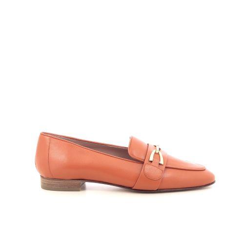 Voltan damesschoenen mocassin oranje 215043