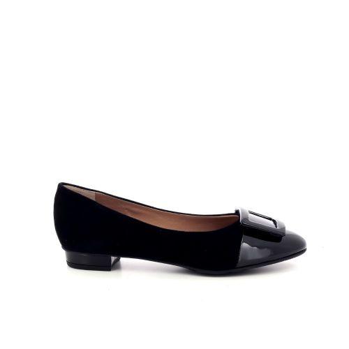 Voltan damesschoenen ballerina zwart 199602