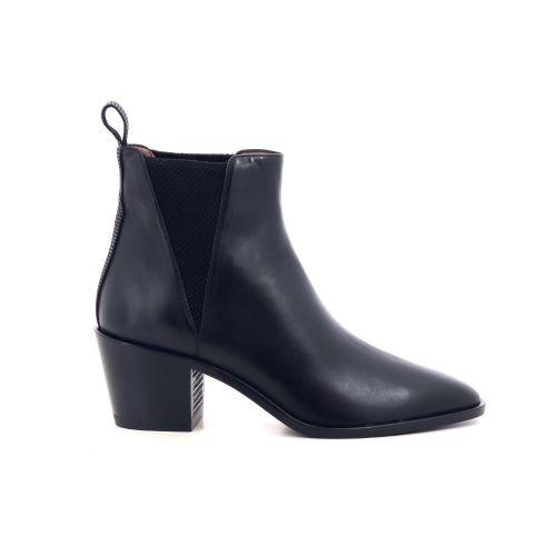 Voltan damesschoenen boots zwart 207996