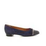 Voltan damesschoenen ballerina blauw 16514