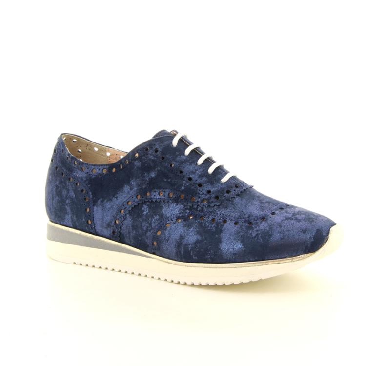 Voltan damesschoenen sneaker donkerblauw 97821