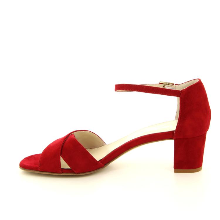 Voltan damesschoenen sandaal rood 97782